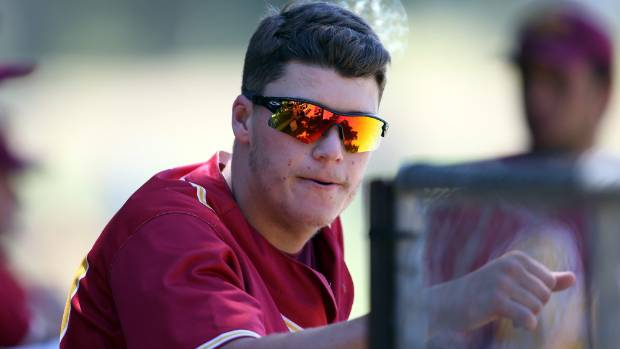 Cole Evans played a big part in Ramblers' ninth national interclub softball title success (file photo).