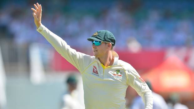 Marsh helps Australia to 351 before Lyon pins back South Africa