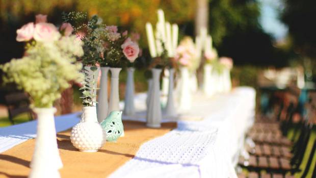Diy wedding decor trends for 2018 stuff give mismatched vases a makeover by painting all the same shade junglespirit Image collections