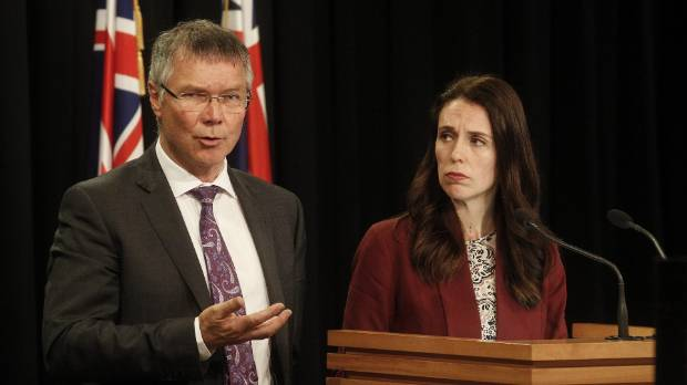 Prime Minister Jacinda Ardern defends Winston Peters' Russia remarks