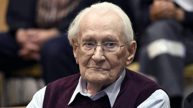''Bookkeeper of Auschwitz'' Oskar Groening dies before starting sentence