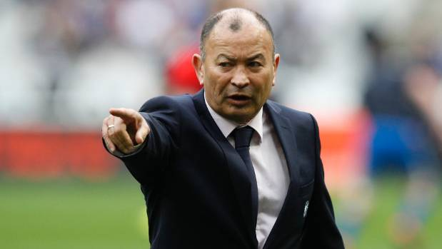 England head coach Eddie Jones apologises for