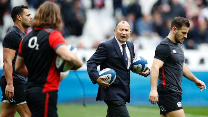 Eddie Jones, an English coach, will be reviving players ahead of the six nations game at Twickenham.