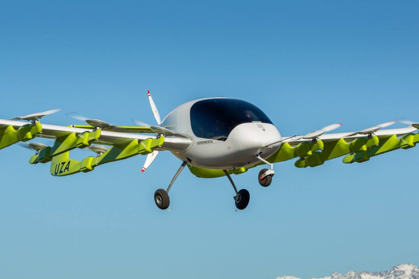 Air taxi trials possible in six years as tech company trials flying