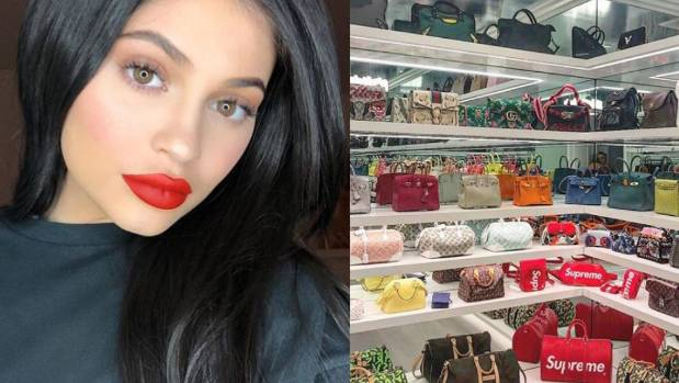 Kylie Jenner's Birkin bag closet designed by Martyn Lawrence Bullard is the stuff of dreams