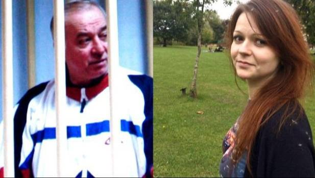Russia has been accused by Britain of being behind the poisoning of ex-spy Sergei Skripal and his daughter Yulia
