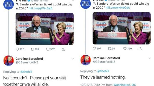 New Zealand Diplomat Censured for Vulgar Tweet About US Democrats