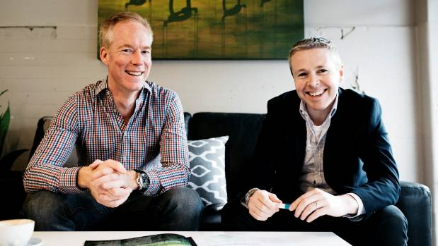 BioLumic chief executive Warren Bebb and founder Jason Wargent have received some significant financial backing.