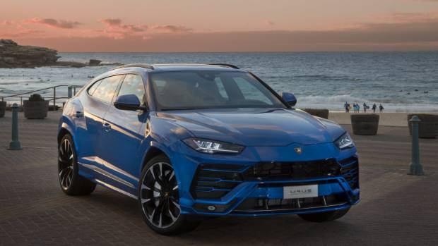 The New 478kW Lamborghini Urus, Due In New Zealand In The Fourth Quarter Of  This