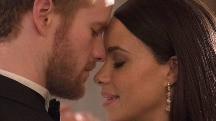 First pictures from the Prince Harry and Meghan Markle TV movie