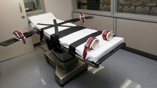 Oklahoma death penalty: state to use nitrogen gas for executions