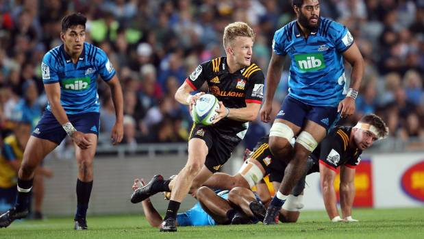 Damian McKenzie will start with the No 15 on his back when the Chiefs meet the Bulls in Hamilton on Friday night.