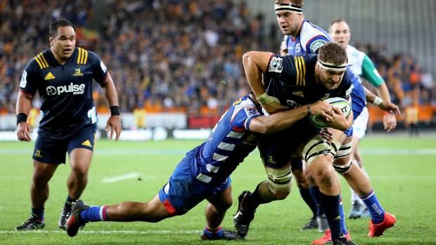 "Highlanders captain Luke Whitelock attended the All Blacks' ""foundation day"" in Christchurch on Monday."