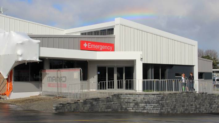 Both Waitākere and North Shore hospitals are experiencing high demand in their emergency departments as the flu season hits.