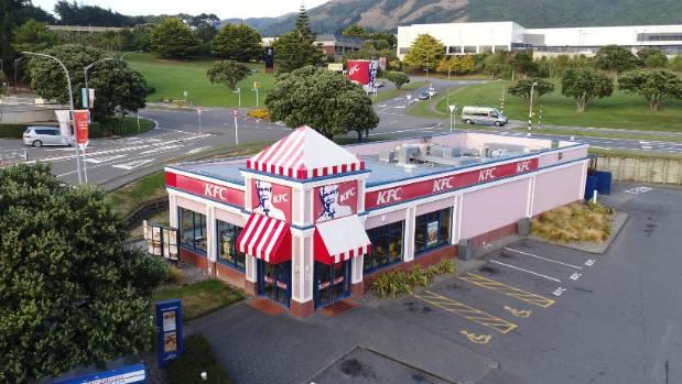 KFC Porirua building sells to local investor for $2.75 million at 'crazy' auction