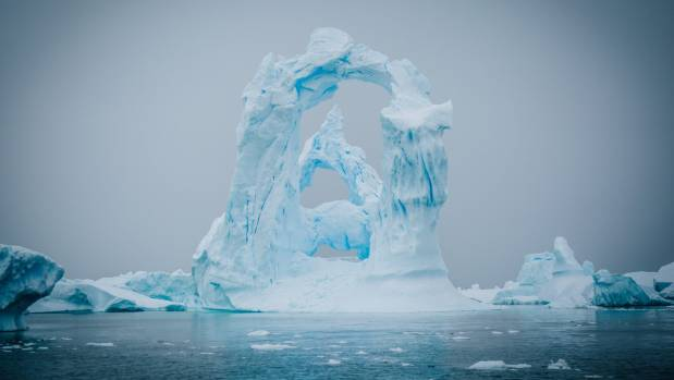 The sheer size of the icebergs will make your head spin.