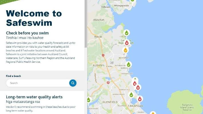 Safeswim, launched last summer, aimed to shine a light on Auckland's water quality issues.