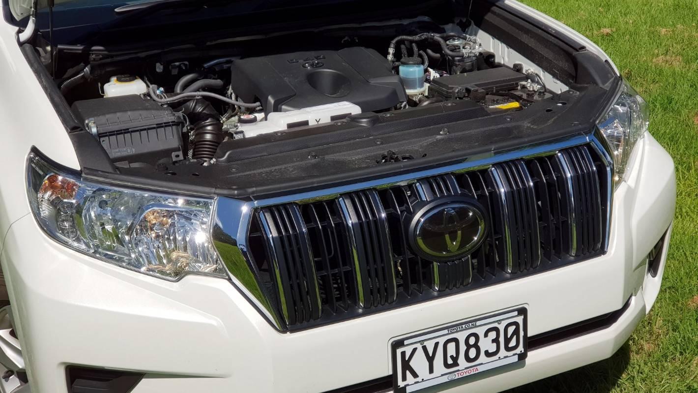 How the Toyota Land Cruiser Prado flollops its way into your