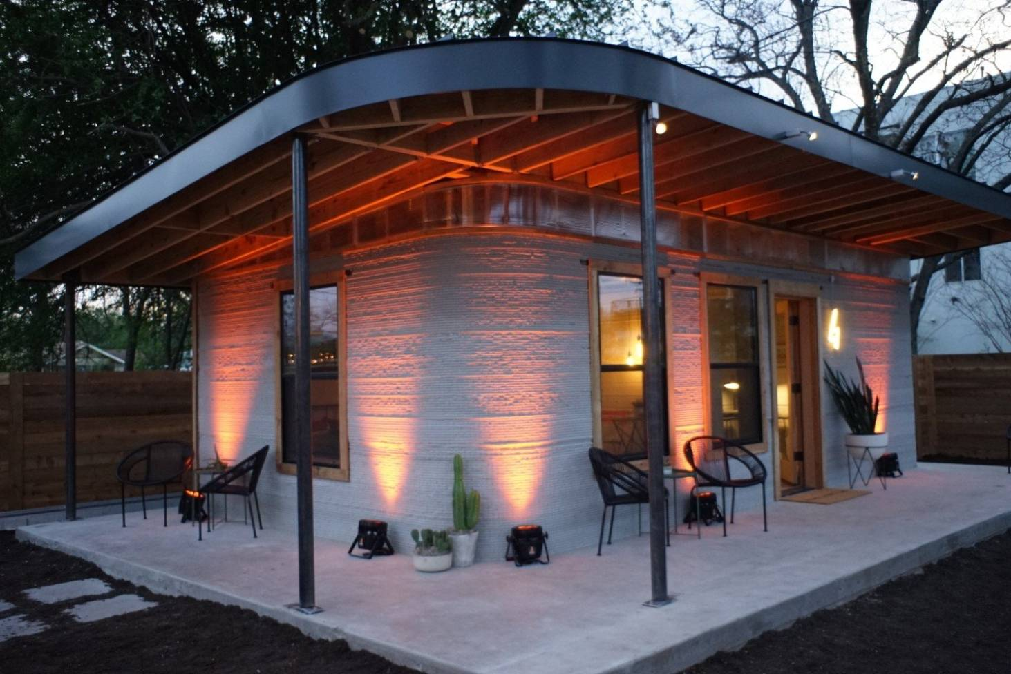 This 3d printed home could revolutionise low cost housing