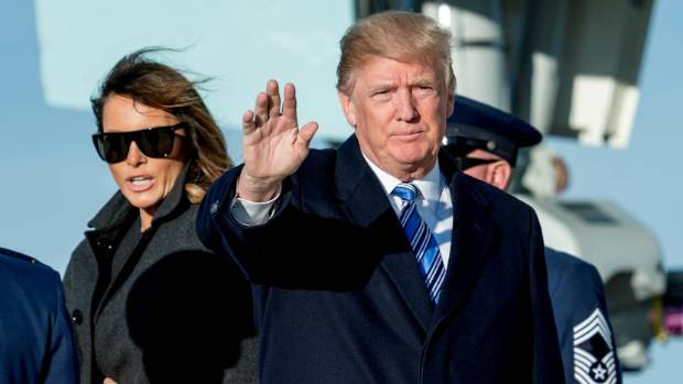 Melania travels solo again amid new Trump affair allegations