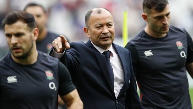 Cipriani gets warned by Eddie Jones