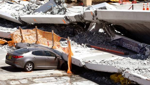 Miami bridge collapse: Engineer reported cracks in voicemail