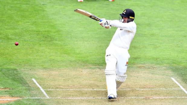 Malcom Nofal scores century on debut for Wellington