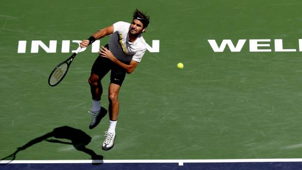 Del Potro hands Federer first loss of season, wins Indian Wells title
