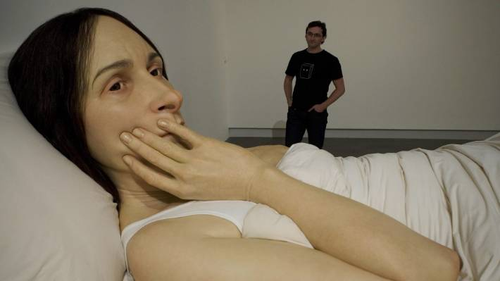 new ron mueck sculpture set to arrive in christchurch in october