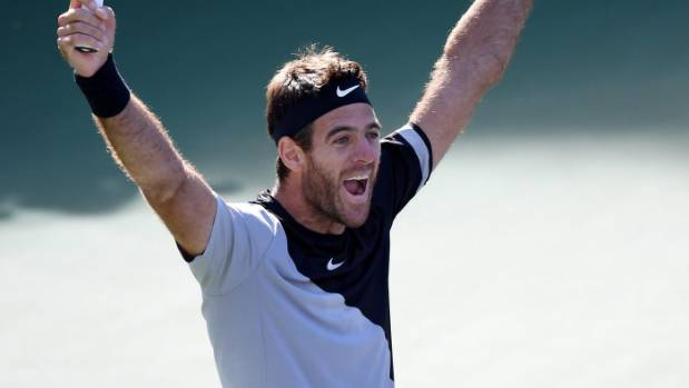 Del Potro and Djokovic on early collision course at Miami Open