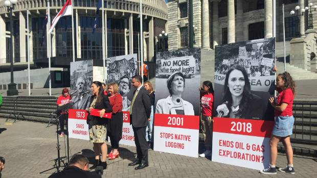 Ardern seeks more time over gas exploration