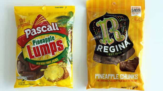 Bye-bye Kiwi-made Pineapple Lumps (but The Chunks Live On