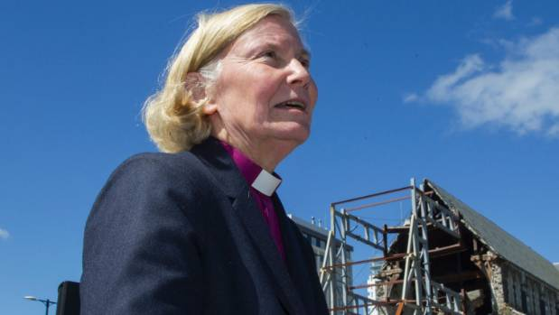 Bishop Victoria Matthews, who campaigned for a modern cathedral, resigned in May