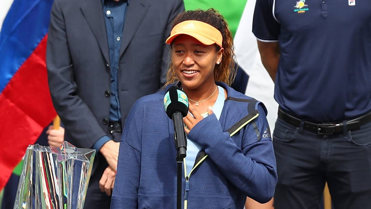 Francois Illas New Tradition: Naomi Osaka Reckons It's The 'worst Acceptance Speech' But