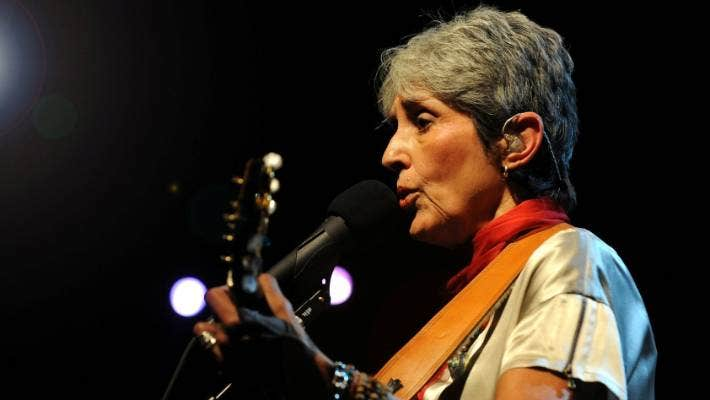 Joan Baez Why At 77 The Protest Singer Is More Badass Than Ever Stuff Co Nz