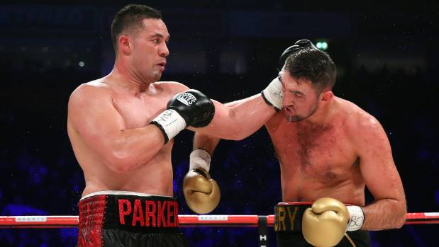 Parker accuses Joshua of disrespecting media from New Zealand and Samoa