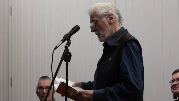 Alistair Paterson's presence at the event was somewhat of a treat for the poets, many of whom owe him their first ...