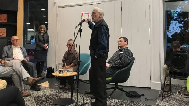 Poetry New Zealand Yearbook 2018 is officially launched at an event in Devonport, with special guest Alistair Paterson.