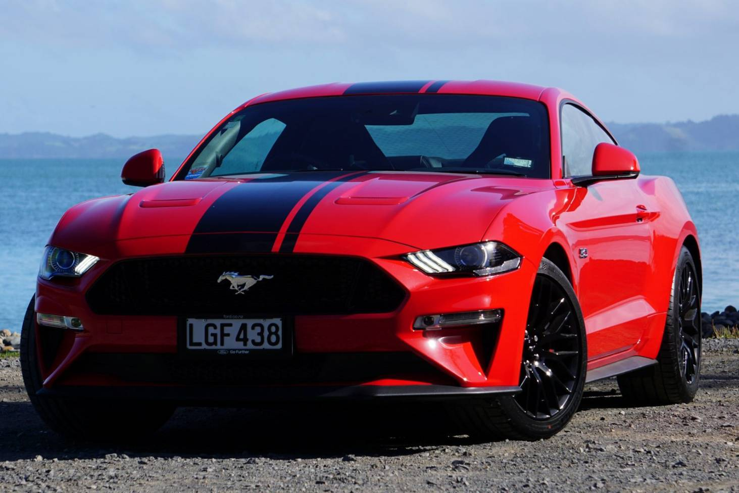 Ford mustang gt earns its stripes with new technology