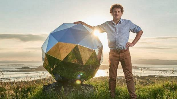 """Rocket Lab founder Peter Beck's """"humanity star"""" satellite was launched on the company's Electron rocket"""