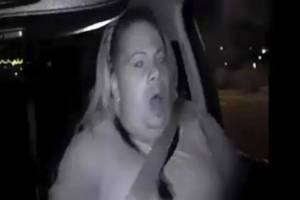 This image made from video Sunday, March 18, 2018, of a mounted camera provided by the Tempe Police Department shows an ...