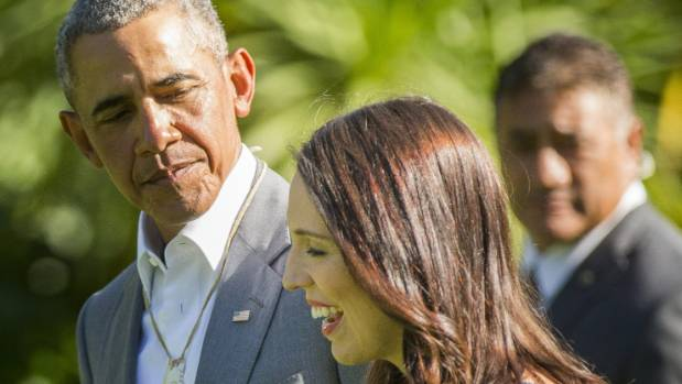 Obama shares parenting tips with New Zealand PM