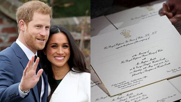 RSVP 600 lucky guests will soon be getting their royal invite to Prince Harry and Meghan Markle's wedding