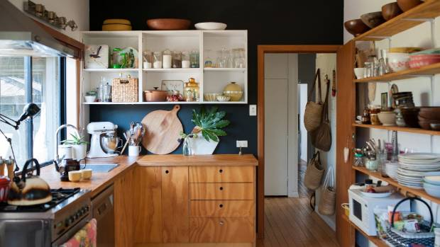 A new kitchen under 10k yes way stuff florence charvin remodelled her cottage kitchen for under 2000 with just plywood and paint solutioingenieria Images