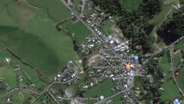 Two in hospital after serious crash at Matakana, north of Auckland