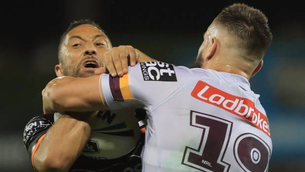Benji Marshall suffers ankle injury in loss to Broncos