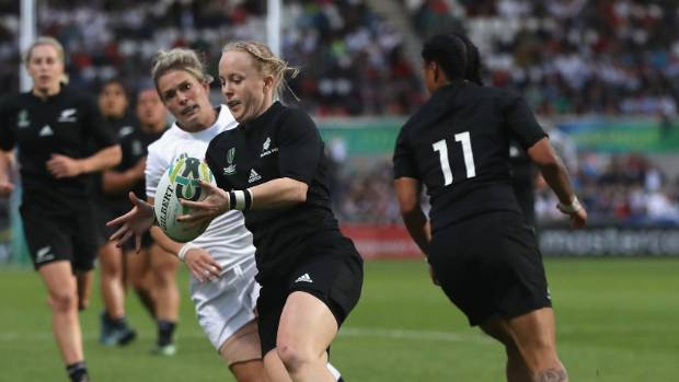 An overjoyed Kendra Cocksedge says the Chicago test match against the USA will grow the Black Ferns and women's rugby abroad