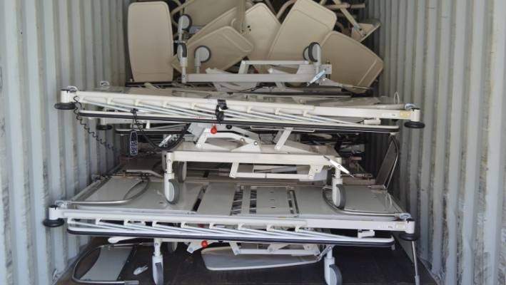 Wellington hospital beds donated to charity to help needy in