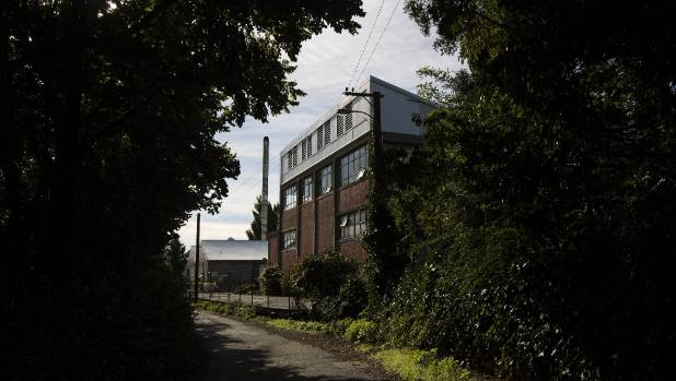 The Gelita factory in Woolston, Christchurch. The factory was extensively damaged in a fire in January.
