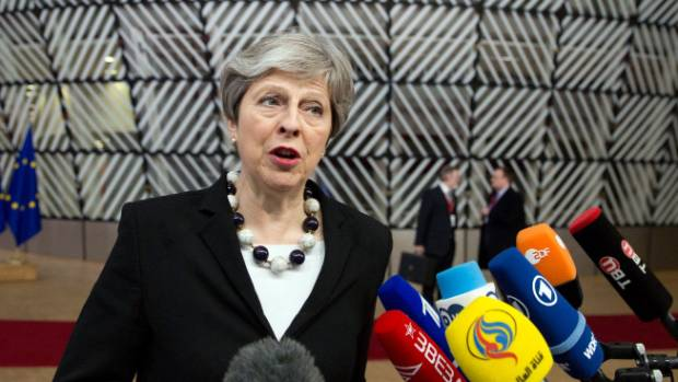 UK PM May: British forces conduct targeted strike against Syria